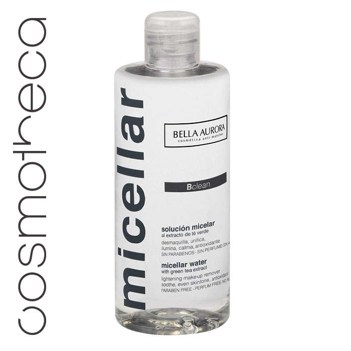 Bella Aurora Мицелярная вода 250 млFS-36054Очищает, осветляет, делает кожу яркой, не требует смывания. Содержащиеся в растворе мицеллы полностью удаляют все загрязнения и макияж с лица, губ и кожи возле глаз.