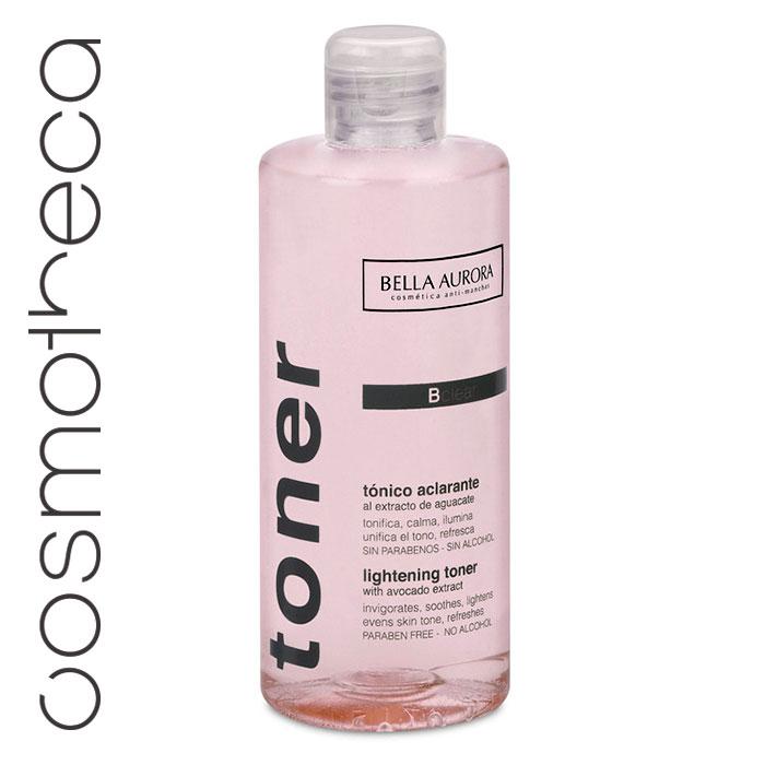 Bella Aurora Тоник для лица придающий сияние коже 250 млFS-00897Освежает, тонизирует, смягчает кожу, делает ярче цвет лица. Очищает и уменьшает поры, готовит кожу к нанесению другихсредств по уходу.