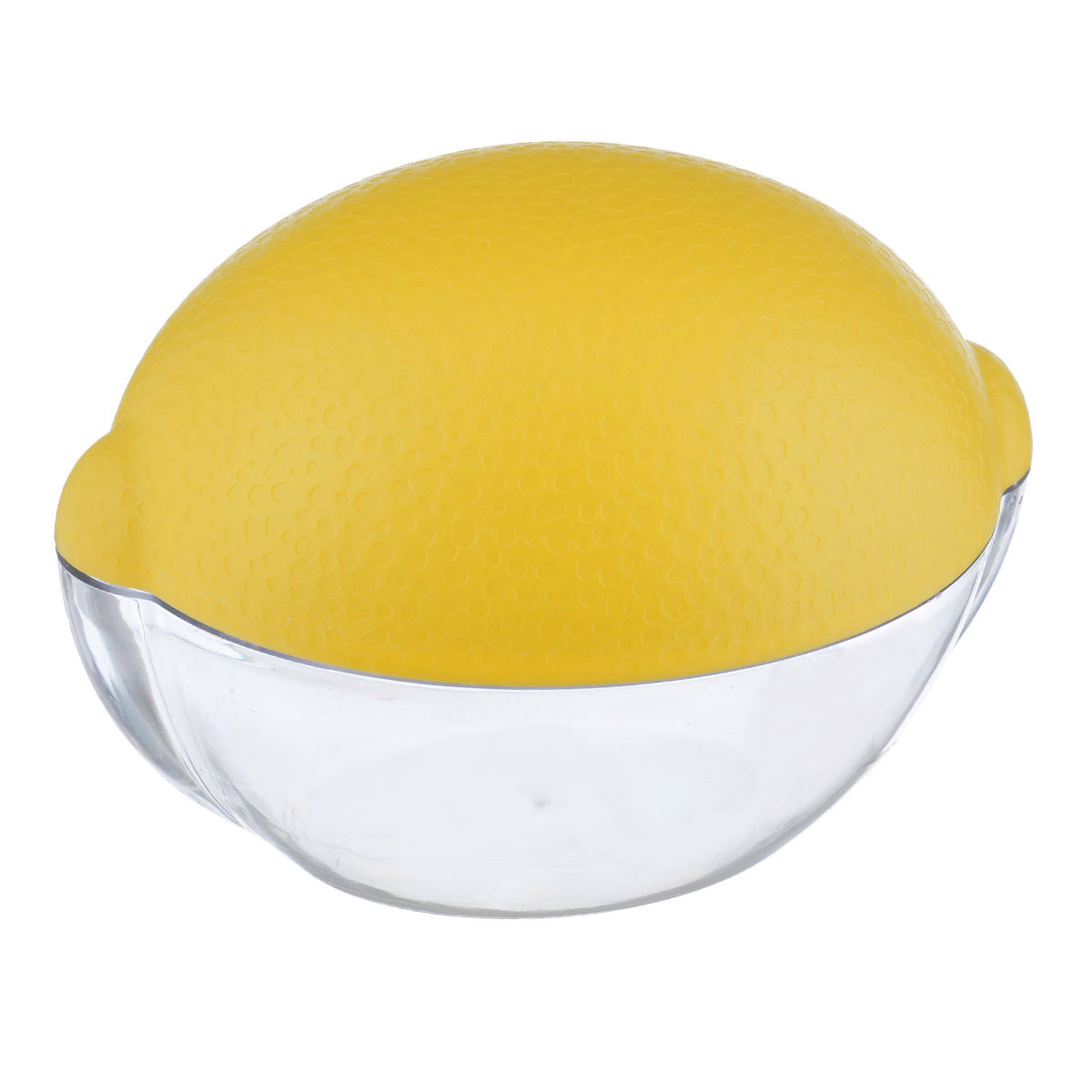 Емкость для лимона Альтернатива, цвет: прозрачный, желтый21395599Емкость для лимона Альтернатива изготовлен из высококачественного прочного пластика в виде лимона. Такой контейнер - это уникальное полезное приобретение для тех, кто привык к порядку в холодильнике. Такой чехол сохранит вкусовые качества лимона и предохранит его от заветривания.