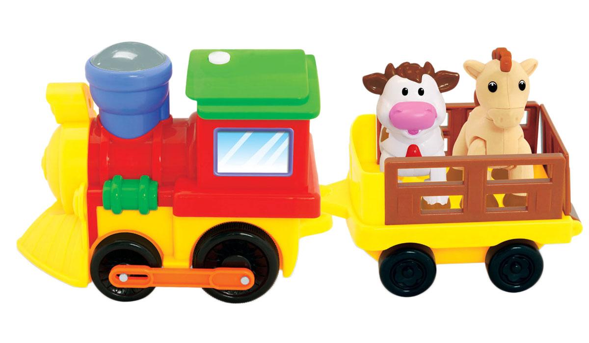 """Kiddieland Развивающая игрушка """"Поезд с животными"""""""
