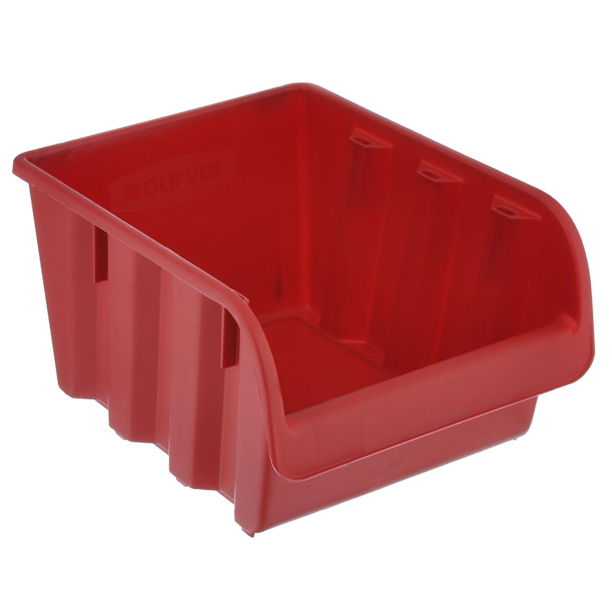 Емкость складская Curver Profi №4, цвет: красный, 24 х 17,2 х 13 см74-0120Емкость Curver Profi №4 выполнена из высококачественного пластика и предназначена для хранения инструментов и различных складских мелочей, таких как гвозди, болты, гайки. Удобная конструкция изделия позволяет без труда достать из емкости нужную вещь. Емкость Curver Profi №4 будет незаменимой дома, на даче или в гараже.