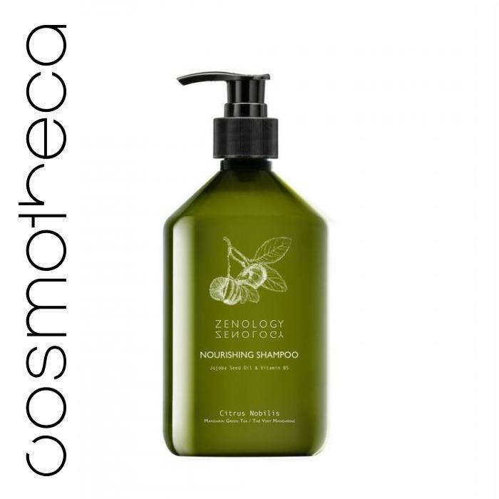 Zenology Питательный Шампунь для волос Зеленый Чай 500 млFS-00897Шампунь с бодрящим ароматом зеленого чая подходит для всех типов волос. Придает объем, блеск, упругость и питает волосы. Он великолепно пенится, мягко очищает кожу головы и волосы, делая их послушными и блестящими.