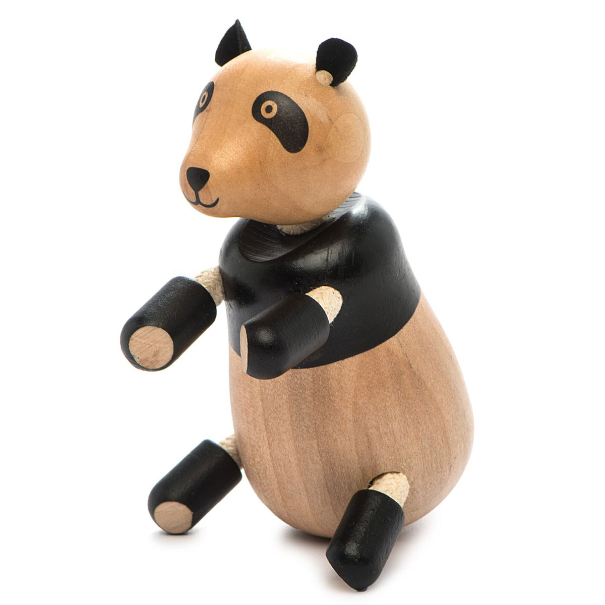 AnaMalz Фигурка деревянная Панда фигурки игрушки anamalz anamalz бурый мишка