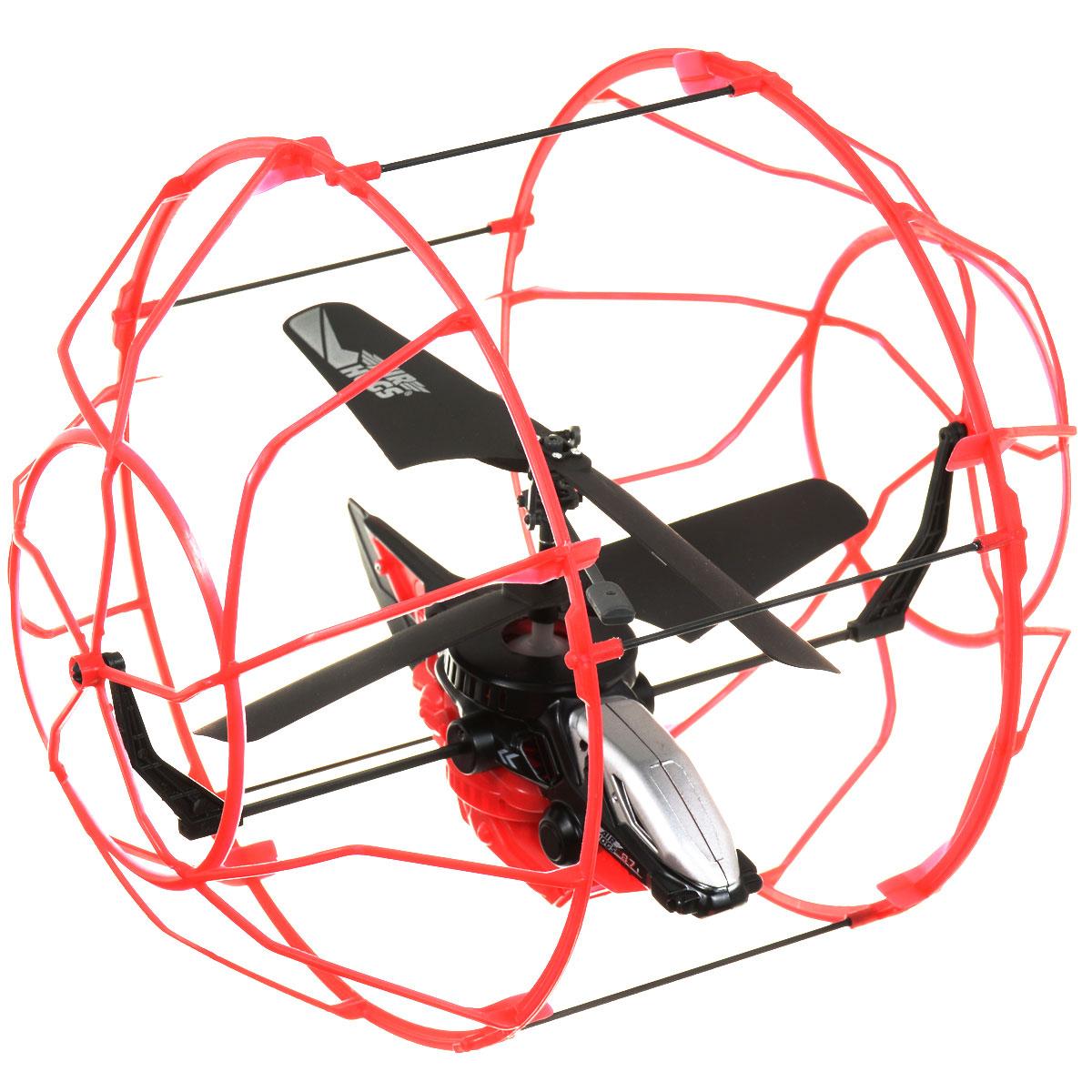 Air Hogs Вертолет на радиоуправлении Roller Copter цвет красный черный вертолет на радиоуправлении airhogs с камерой 44545
