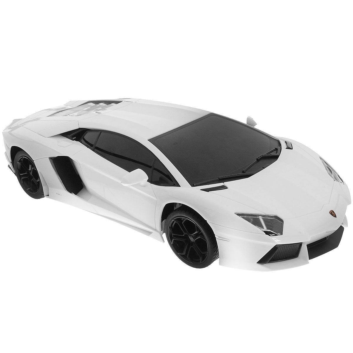 """Радиоуправляемая модель """"TopGear: Lamborghini 700"""" является детальной копией существующего автомобиля в масштабе 1:18. Машинка изготовлена из прочного легкого пластика с элементами металла, колеса прорезинены. При помощи пульта управления автомобиль может перемещаться вперед, назад, поворачивать влево и вправо, останавливаться. Встроенные амортизаторы обеспечивают комфортное движение. При движении фары машинки светятся. В комплект входят машинка и пульт управления. Автомобиль отличается потрясающей маневренностью и динамикой. Ваш ребенок часами будет играть с моделью, устраивая захватывающие гонки. Машина работает от 4 батареек напряжением 1,5V типа АА (не входят в комплект). Пульт управления работает от 2 батареек напряжением 1,5V типа АА (не входят в комплект)."""