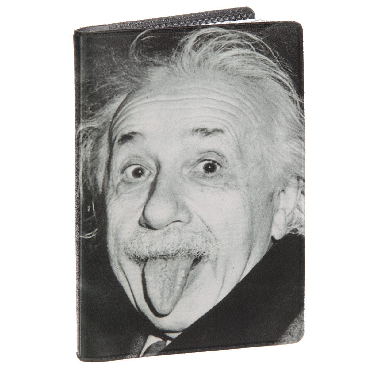 Визитница Эйнштейн. VIZAM295W16-11128_323Стильная визитница Mitya Veselkov Эйнштейн выполнена из поливинилхлорида. Изделие оформлено художественной печатью с изображением ученого. Внутри размещены два пластиковых кармана и вкладыш на восемнадцать кармашков.Яркая визитница Mitya Veselkov Эйнштейн не только поможет сохранить внешний вид ваших визиток, а также станет стильным аксессуаром, идеально подходящим к вашему образу.