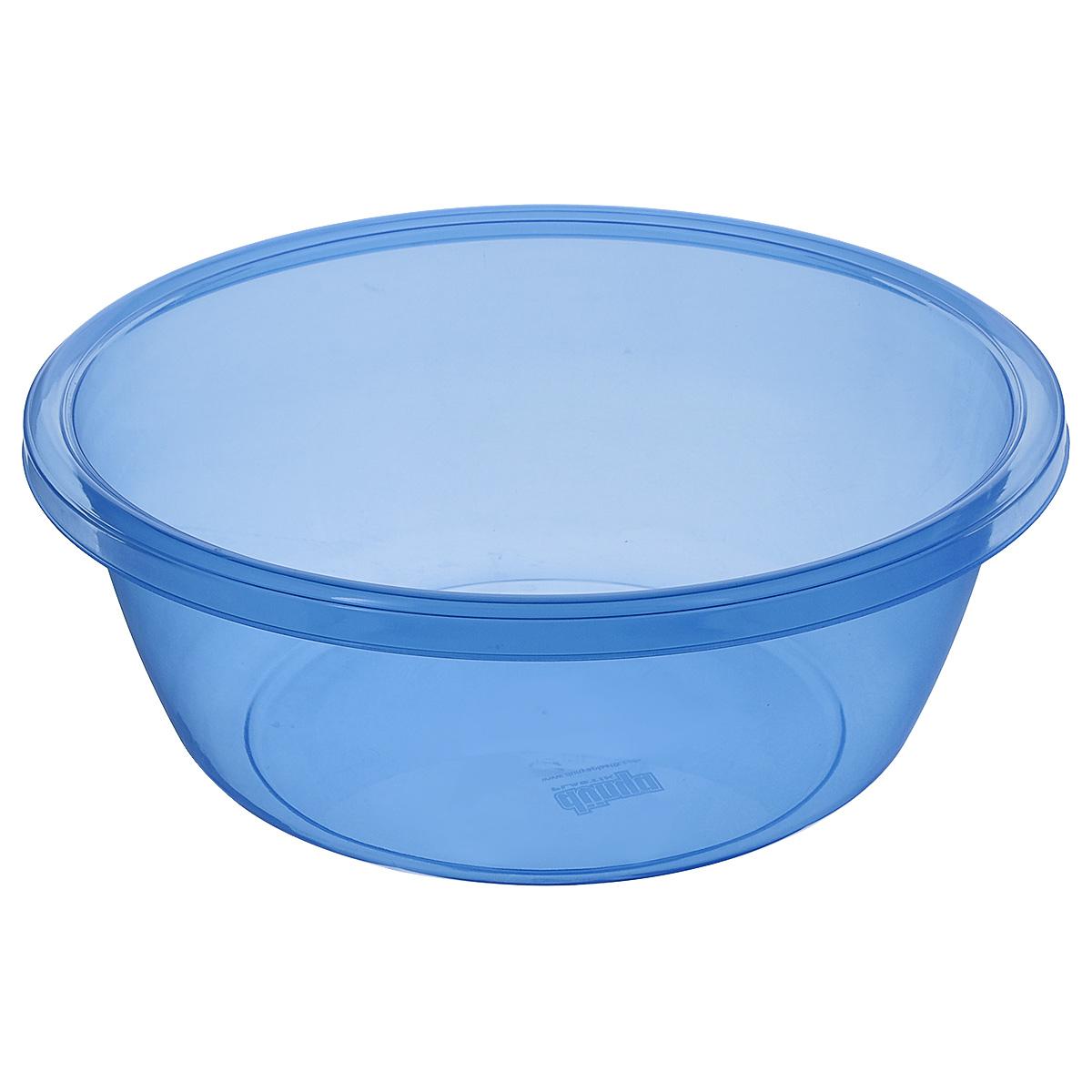 Таз Dunya Plastik, цвет: голубой, 7 л. 10335 контейнер dunya plastik цвет синий прозрачный 2 20 л