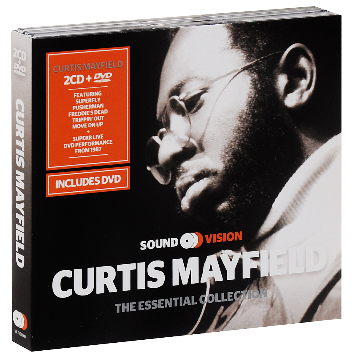 Кертис Мэйфилд Curtis Mayfield. The Essential Collection (2 CD + DVD) the classic 90s collection cd