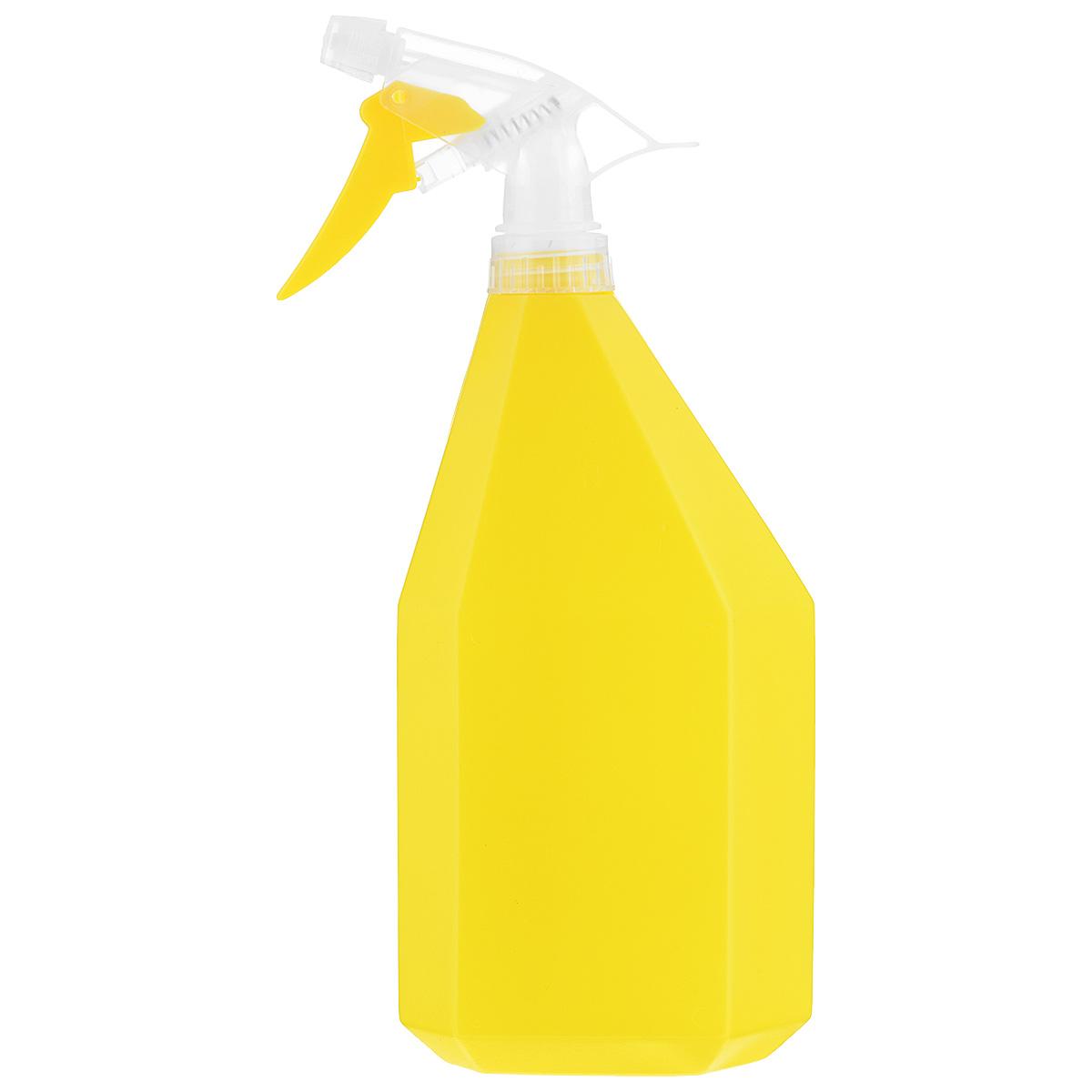 Опрыскиватель Idea Конус, цвет: желтый, 1 л м пластика