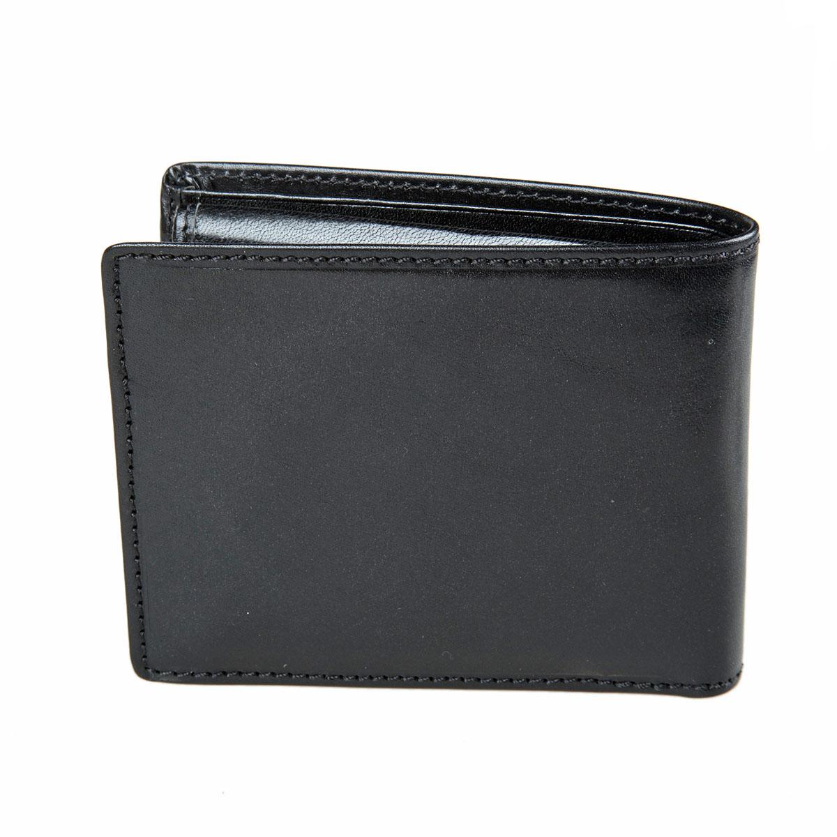 Портмоне мужское Gianni Conti, цвет: черный. 90702377-080-06Стильное мужское портмоне Gianni Conti выполнено из натуральной кожи. Лицевая сторона оформлена тиснением в виде названия бренда производителя.Изделие раскладывается пополам. Внутри имеется два отделения для купюр, четыре потайных кармана, карман для мелочи на кнопке, семь кармашков для визиток и пластиковых карт и сетчатый карман. Портмоне упаковано в фирменную картонную коробку. Оригинальное портмоне подчеркнет вашу индивидуальность и изысканный вкус, а также станет замечательным подарком человеку, ценящему качественные и практичные вещи.