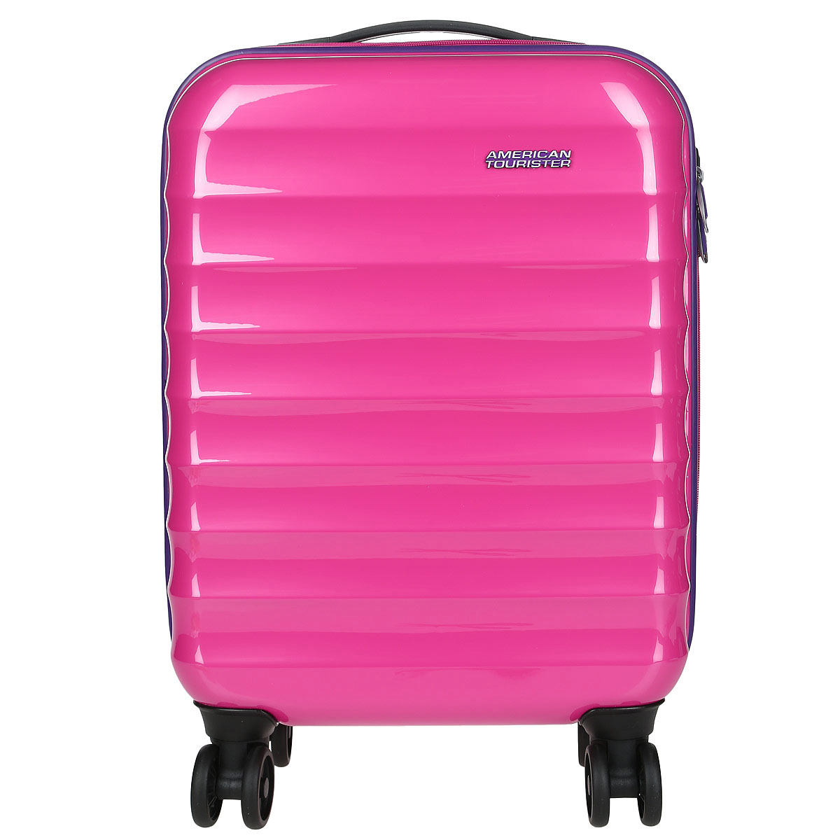 Чемодан American Tourister Palm Valley, цвет: розовый, 32 л чемодан american tourister pasadena spinner 55 см белый