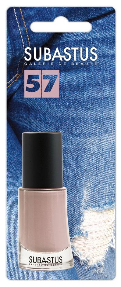 Лак для ногтей Subastus Le Couturier, №57, 10 мл28032022Лак для ногтей Subastus Le Couturier с ультрастойкой формулой имеет интенсивный цвет и актуальный оттенок. Профессиональная кисточка равномерно и быстро покрывает поверхность ногтя, обеспечивая мастерски-безупречный маникюр. Элегантный флакон изумительной формы создает иллюзию хрустального дна. Колпачок с матовым покрытием не скользит в руке, обеспечивая точное и аккуратное нанесение лака. Характеристики:Объем:10 мл. Тон лака:№57.Артикул:802028. Производитель: Франция. Товар сертифицирован.