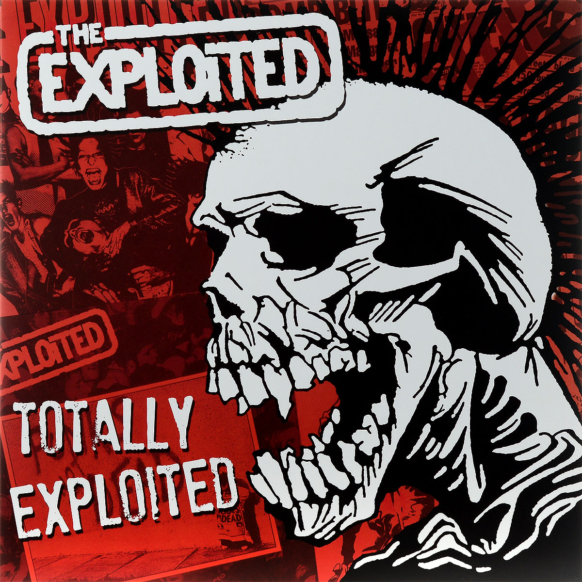 The Exploited The Exploited. Totally Exploited. Limited Edition (2 LP) the exploited the exploited apocalypse tour 1981 limited edition lp