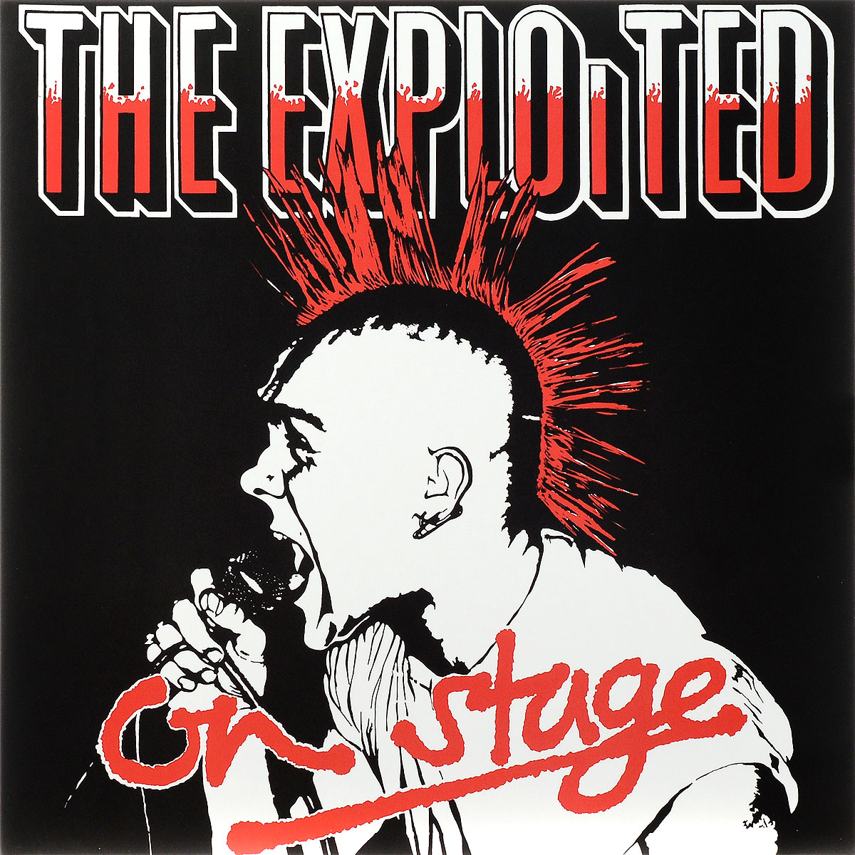 The Exploited The Exploited. On Stage. Limited Edition (LP) the exploited the exploited apocalypse tour 1981 limited edition lp
