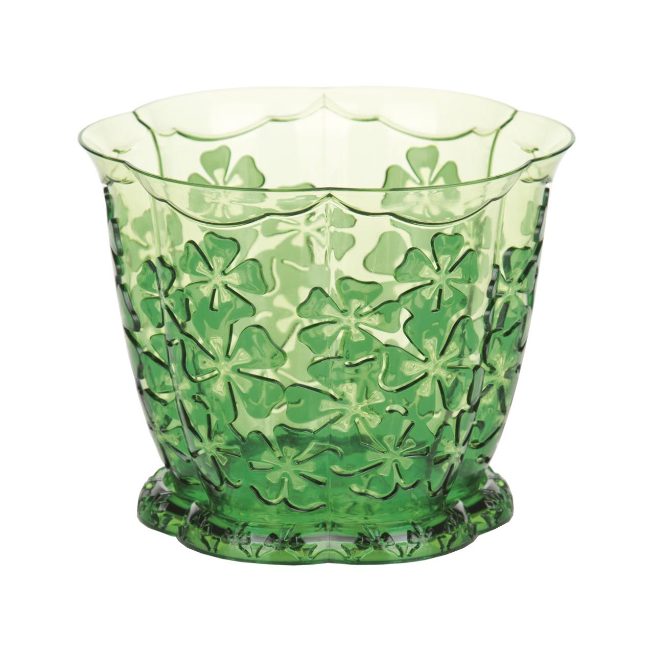 Горшок для орхидей Камелия, с поддоном, цвет: зеленый, 1,5 лЯБ501401Горшок для цветов Камелия представляет собой пластиковую емкость и подставку, декорированную цветочным орнаментом. Горшок прозрачный, что позволяет посадить туда орхидеи. Горшок имеет стильный дизайн, поэтому прекрасно впишется в любой интерьер. Диаметр по верхнему краю: 16 см. Объем горшка: 1,5 л.