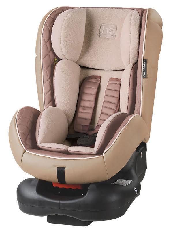 Автокресло Happy Baby Taurus BeigeVCA-00Taurus — автомобильное кресло групп 0/I (для детей от 0 до 18 кг). Внешняя часть кресла выполнена из качественной экокожи, приятной на ощупь, которая не пачкается и имеет водоотталкивающий эффект. Благодаря дышащей фактурной вкладке малыш будет чувствовать себя комфортно. Кресло имеет 4 положения наклона спинки, оснащено удобным механизмом регулировки. Ребенок фиксируется в кресле с помощью пятиточечных ремней безопасности, оснащенных регулируемыми по высоте накладками. Вы можете комфортно поместить малыша в кресло и быть уверенными в его безопасности. Автокресло крепится в автомобиле с помощью трехточечных штатных ремней безопасности и устанавливается лицом по ходу или против движения автомобиля.