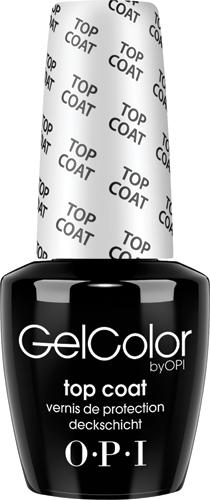 OPI Верхнее покрытие GelColor, 15 мл1092018Верхнее покрытие для гель-лака GelColor OPI. GelColor OPI - это 100% гель для ногтей, который Вы можете носить до трех недель! Верхнее покрытие - завершающий шаг в трехступенчатой системе гелевого маникюра. Помимо стойкого яркого маникюра, гель-лак для ногтей GelColor OPI обеспечит лечение ногтей, потому что база для гель-лака GelColor не проникает в кератин ногтя, а цветной слой и верхнее покрытие для гель-лака OPI защищают ногтевую пластину от внешних повреждений. Наносить Гельколор OPI следует у мастера по маникюру и педикюру, потому что для процедуры покрытия гель-лаком нужна профессиональная уф-лампа. Снять гель-лак в домашних условиях очень легко: достаточно нанести на специальные салфетки Expert Touch OPI жидкость для снятия лака и обернуть ногти на 15 минут, затем GelColor OPI легко снимается с ногтей.