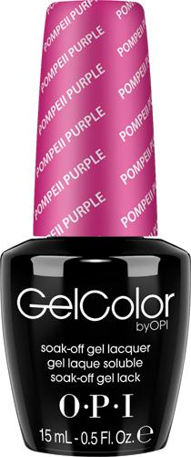 OPI Гель-лак GelColor Pompeii Purple, 15 мл30535830470GELCOLOR от OPI. ГЕЛЬКОЛОР это 100% гель в лаковом флаконе! В отличие от гелей-лаков, из-за отсутствия лаковой составляющей ГЕЛЬКОЛОР не подвержен сколам и трещинам. Ультра-быстрое светоотверждение в LED-лампе OPI! Всего лишь 4 минуты на все слои включая базу и верхнее покрытие на всех пальцах! Не требует шлифовки ногтей перед нанесением и опиливания при снятии, а значит — не травмирует ногти! Снимается за 15 минут отмачиванием.ГЕЛЬКОЛОР - экономичен! ГЕЛЬКОЛОР - это высочайшее качество OPI по доступной цене. Оттенки легендарных лаков OPI при желании можно наносить поверх ГЕЛЬКОЛОР. Сравните стоимость ГЕЛЬКОЛОР с другими марками и Вы увидите разницу!Стойкое и сияющее покрытие на недели вперед с GELCOLOR.ГЕЛЬКОЛОР это 100% гель в лаковом флаконе! В отличие от гелей-лаков, из-за отсутствия лаковой составляющей ГЕЛЬКОЛОР не подвержен сколам и трещинам.Ультра-быстрое светоотверждение в LED-лампе OPI! Всего лишь 4 минуты на все слои включая базу и верхнее покрытие на всех пальцах!Не требует шлифовки ногтей перед нанесением и опиливания при снятии, а значит — не травмирует ногти! Снимается за 15 минут отмачиванием.ГЕЛЬКОЛОР - экономичен! ГЕЛЬКОЛОР - это высочайшее качество OPI по доступной цене.Повторяют оттенки легендарных лаков OPI, которые при желании можно наносить поверх ГЕЛЬКОЛОР.Сравните стоимость ГЕЛЬКОЛОР с другими марками и Вы увидите разницу!Стойкое и сияющее покрытие на недели вперед с GELCOLOR.
