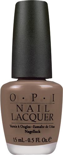OPI Лак для ногтей Over the Taupe, 15 млNLB59Лак для ногтей OPI быстросохнущий, содержит натуральный шелк и аминокислоты. Увлажняет и ухаживает за ногтями. Форма флакона, колпачка и кисти специально разработаны для удобного использования и запатентованы.