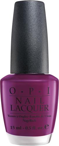 OPI Лак для ногтей Pamplona Purple, 15 мл5010777139655Лак для ногтей OPI быстросохнущий, содержит натуральный шелк и аминокислоты. Увлажняет и ухаживает за ногтями. Форма флакона, колпачка и кисти специально разработаны для удобного использования и запатентованы.