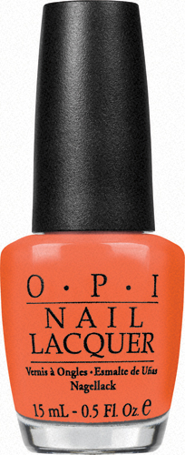 "OPI Лак для ногтей Hong Kong ""Hot & Spicy"", 15 мл"