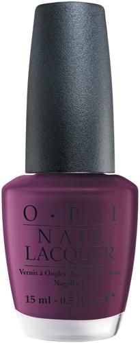 OPI Лак для ногтей Lincoln park after dark, 15 мл5010777142037Лак для ногтей OPI быстросохнущий, содержит натуральный шелк и аминокислоты. Увлажняет и ухаживает за ногтями. Форма флакона, колпачка и кисти специально разработаны для удобного использования и запатентованы.