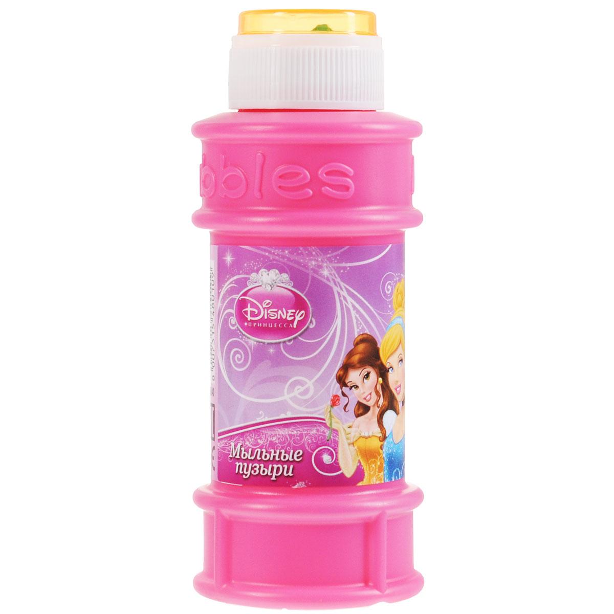 Веселая затея Мыльные пузыри  Disney. Принцессы , 175 мл -  Мыльные пузыри