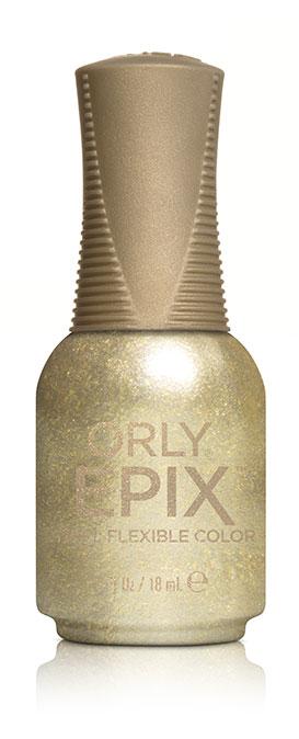 Orly Эластичное цветное покрытие EPIX Flexible Color 932 TINSELTOWN, 18 мл5010777139655Двухфазная эластичная система Flexible Color System - это новейшая запатентованная технология последнего поколения от ORLY, объединившая функции лака для ногтей и гибридных гелевых покрытий. Она обеспечивает прочное эластичное покрытие благодаря содержанию инновационных амортизирующих полимеров. Технология Flexible Color System подразумевает взаимное сцепление цветного лака и верхнего покрытия. Оба препарата системы EPIX дополняют друг друга и действуют вместе.А простое нанесение без подтеков обеспечивается благодаря технологии Smudge-Fixing, которая содержит полимеры, делающие покрытие эластичным и гибким, словно натуральные ногти. Лак быстро выравнивается, исключая смазывание во время нанесения.И еще один плюс, который все женщины оценят по достоинству - инновационная кисть ORLY EPIX. Она обеспечивает точное нанесение и идеальную ровную линию возле кутикулы. Максимальный контроль за результатом гарантирован:• 600 щетинок + плоская кисть• Максимально точное нанесение• Гладкое и плотное покрытие в одно касание кисти• Изогнутый контур кисти для безупречной линии возле кутикулыEPIX от ORLY сочетает все лучшие свойства в одном покрытии – эластичное покрытие без сколов, словно единое целое с ногтями.