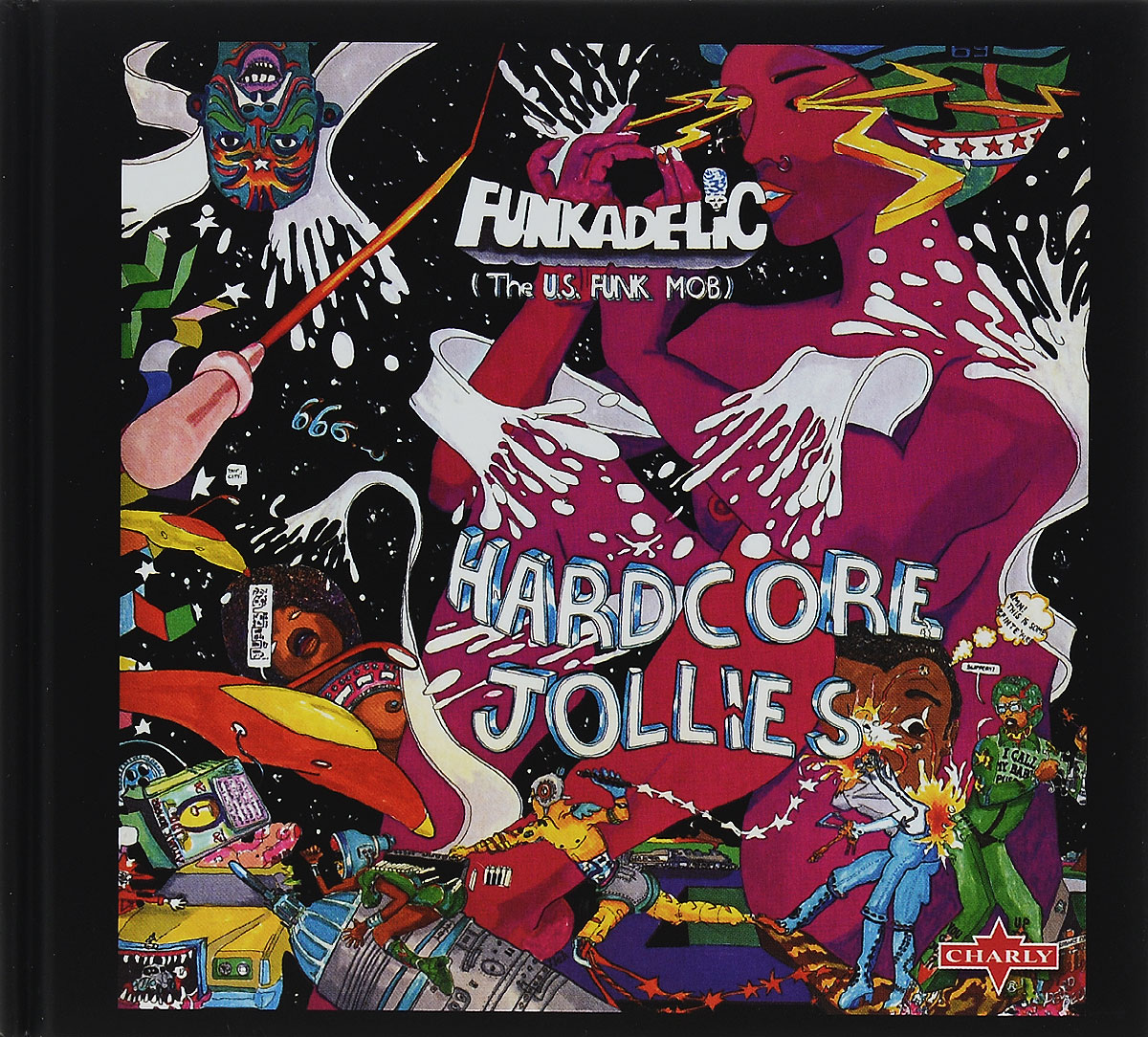 Funkadelic. Hardcore Jollies