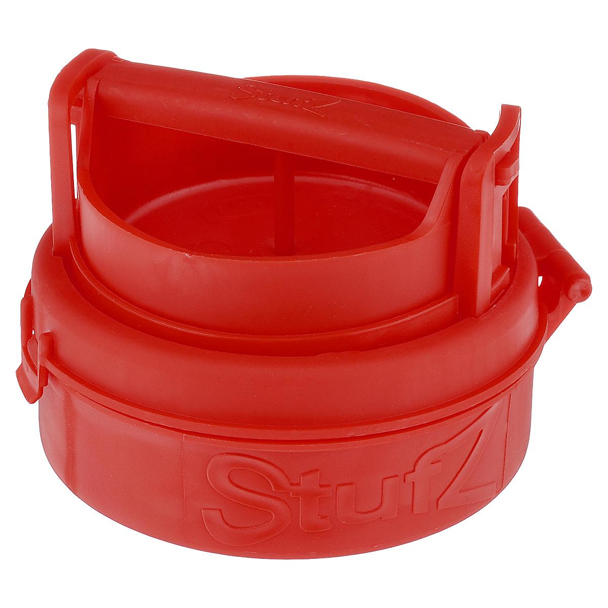 Пресс для формирования котлет с начинкой Bradex От шефа, цвет: красный, 12 х 12 х 6 см68/5/4Пресс Bradex От шефа, изготовленный из пищевого пластика, представляет собой форму с подъемным дном и откидной крышкой. Благодаря прессу вы сможете порадовать своих родных и близких котлетами со всевозможными начинками. С ним вы сделаете котлеты, которые придутся по вкусу каждому. Идеальные по форме и размеру котлеты не развалятся во время жарки, запекания в духовке или приготовления на гриле.Преимущества:- легко использовать и мыть,- формирует котлеты и зразы идеальной формы,- возможно использование любого мясного или рыбного фарша, а также фарша из птицы,- подходит для приготовления вегетарианских котлет,- ничто не ограничит вас в выборе начинки,- не занимает много места при хранении.