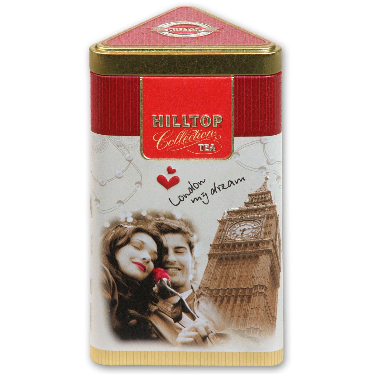 Hilltop Прогулки по Лондону улун листовой, 80 г0350-42Романтическая коллекция Hilltop Прогулки по Лондону – это история путешествия для двоих, запечатленная в ароматном чае. Лучший чай Молочный Улун, напоминающий о самых драгоценных минутах, по каплям наполняющих нашу жизнь наполнен нежным ароматом свежих сливок. Красивая упаковка позволит подарить этот чай вашим близким на любое торжество!