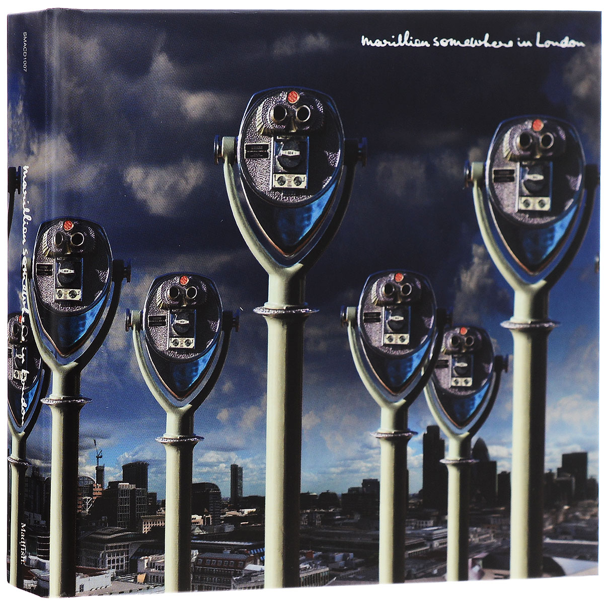 Marillion Marillion. Somewhere In London (2 CD + DVD) yes yes in the present live from lyon 2 cd dvd