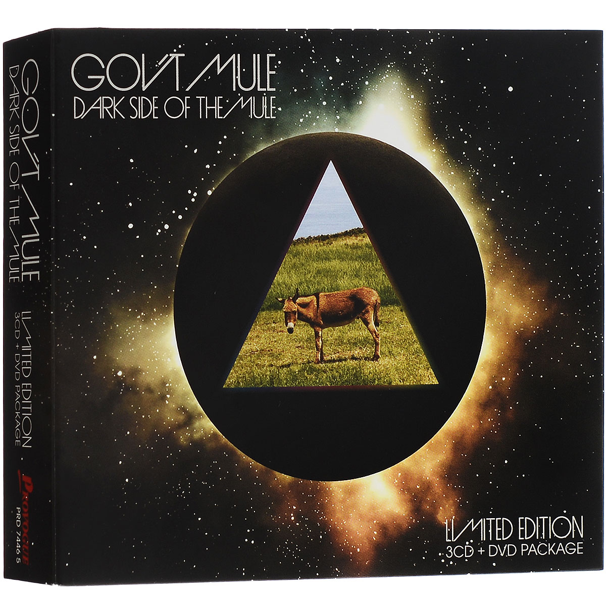 Gov't Mule Gov't Mule. Darkside Of The Mule (3 CD + DVD) робошар sphero ollie darkside