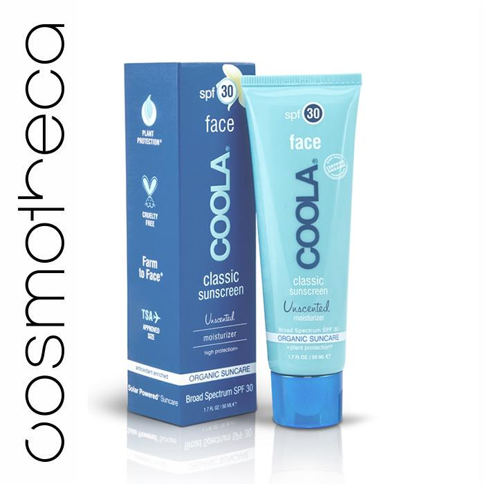 Coola Suncare Солнцезащитный крем для лица, увлажняющий, без запаха, SPF 30, 50 мл0861-10235Нежный солнцезащитный крем Coola Suncare для лица, не имеет запаха, обладает шелковистой текстурой, содержит большое количество витаминов и антиоксидантов, борется со старением кожи. Защищает, увлажняет и смягчает нежную кожу лица, быстро впитывается, оставляя кожу идеально матовой. Не оставляет жирных следов, не забивает поры, сочетая такие антиоксидантны, как витамины А, С, D и Е, цинк, а также эксклюзивный ингредиент Juglans Regia Serum (Сыворотка на основе грецкого ореха) и особенное сочетание целебных органических экстрактов для кожи. Этот уникальный увлажняющий солнцезащитный крем идеально дополнит ежедневный уход за кожей, защитит от вредных солнечных лучей, сделав при этом кожу сияющей, гладкой и шелковистой. Характеристики:Объем: 50 мл. Артикул: F30U. Производитель: США. Товар сертифицирован.