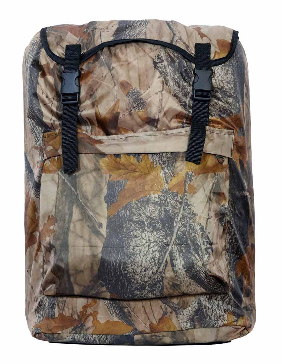 Рюкзак Picrest Ранчо, цвет: камуфляж, 35 л67742Удобный и вместительный рюкзак Picrest Ранчо предназначен для поездок на дачу, походов в лес или на пикник. Выполнен из прочного материала Oxfort 210 PU. Рюкзак оснащен одним вместительным отделением, затягивающимся на шнурок и дополнительно закрывающимся клапаном на два хлястика с карабинами. Спереди расположен карман на застежке-молнии. Широкие мягкие лямки обеспечивают удобную транспортировку рюкзака.