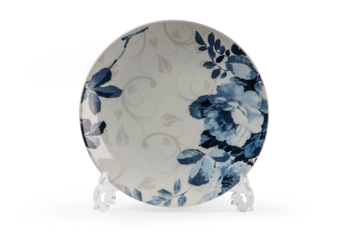 Monalisa 1780 набор тарелок 27см* 6 шт, цвет: бело-синий1063080В наборе тарелка 27 см 6 штук Материал: фарфор: цвет: бело-синийСерия: MONALISA