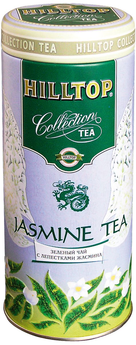 Hilltop Jasmine Tea зеленый листовой чай, 100 г 2016 new jasmine flowers green tea jasmine flurries chinese tea green jasmine flower green food free shipping