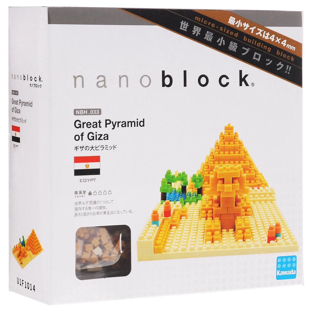 Nanoblock Мини-конструктор Пирамида Хеопса