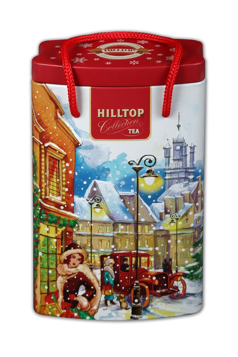Hilltop За подарками Эрл Грей черный листовой чай, 125 г70208-00Черный крупнолистовой чай Hilltop За подарками с цедрой апельсина и ароматом бергамота.