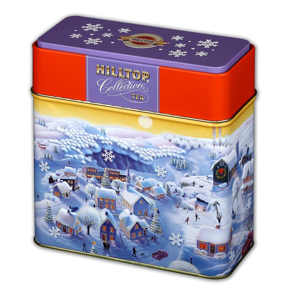 Hilltop Сказочные домики черный листовой чай, 200 г0120710Hilltop Сказочные домики- особо крупнолистовой цейлонский черный чай с насыщенным ароматом и терпким вкусом будет безупречным дополнением к новогоднему столу, а также отличным подарком для ваших близких! Яркая подарочная упаковка чая на новогоднем чаепитии безусловно порадует ваших гостей!