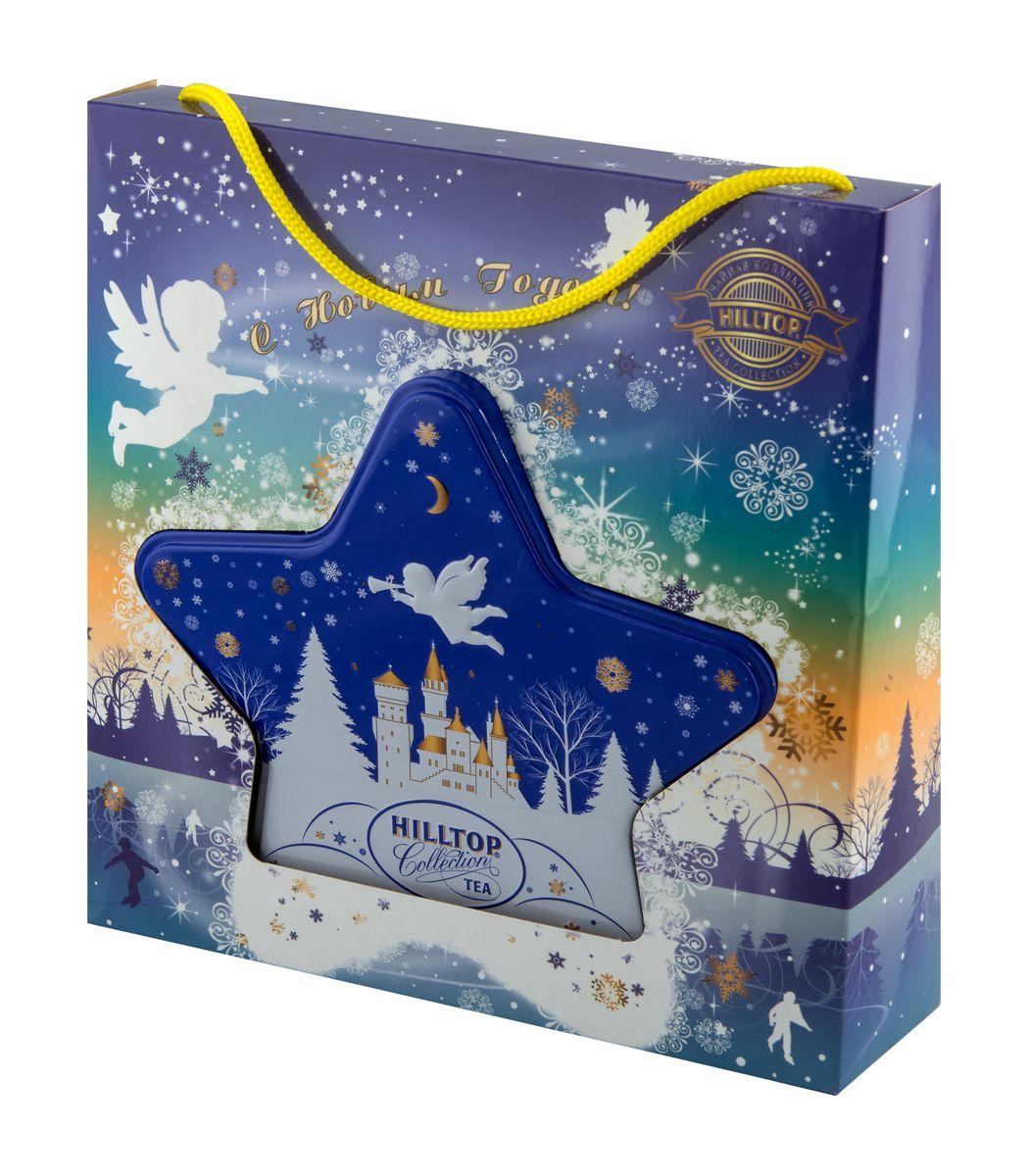 Hilltop Снежный ангел черный листовой чай, 80 г0120710Классический крупнолистовой черный чай Hilltop Снежный ангел с мягким ароматом и тонизирующими свойствами.