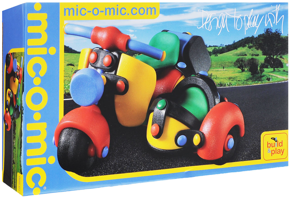 Mic-o-Mic Конструктор Мотоцикл с коляской