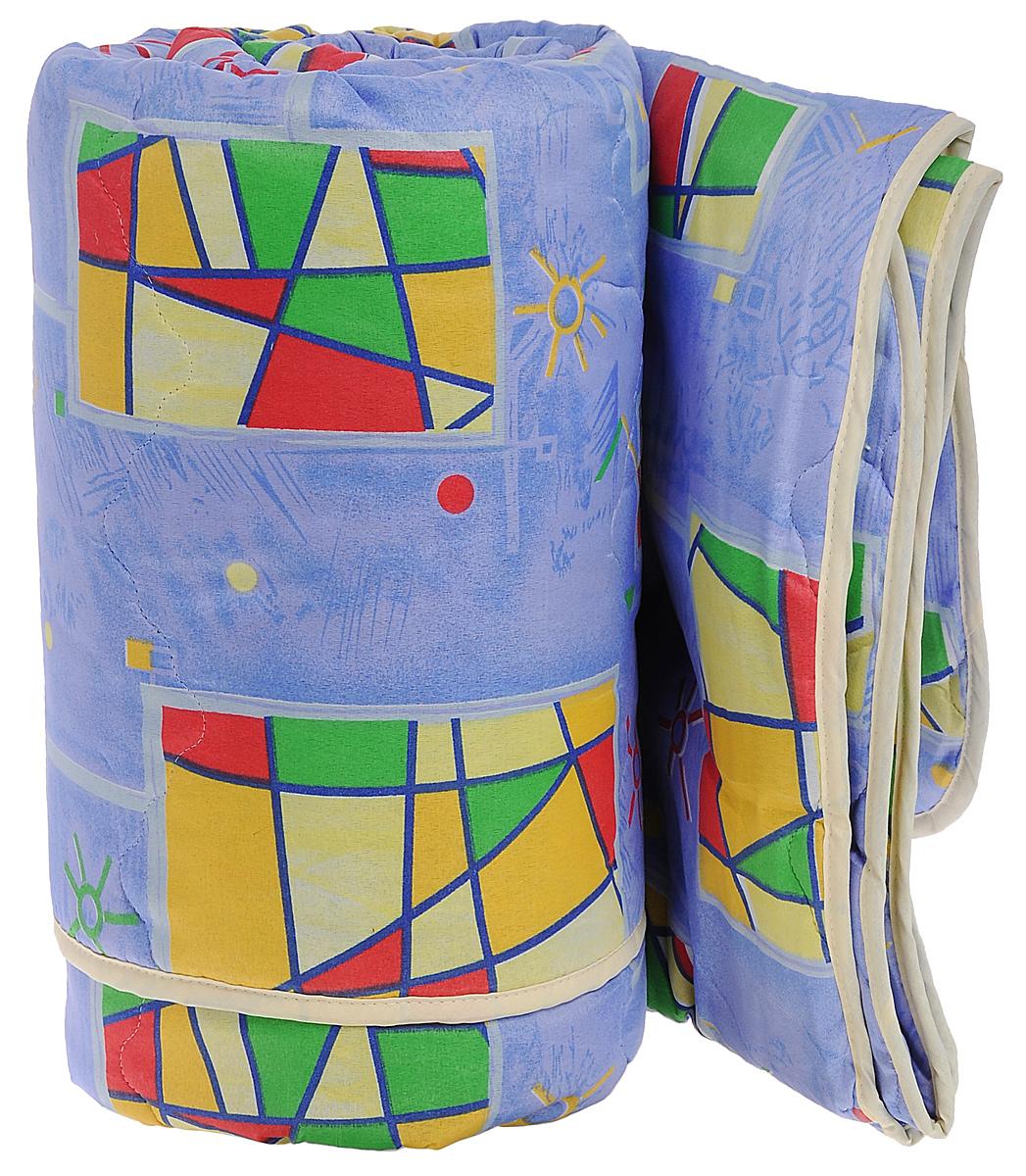 Одеяло всесезонное OL-Tex Miotex, наполнитель: полиэфирное волокно Holfiteks, цвет: сиреневый, желтый, 200 х 220 см98299571Всесезонное одеяло OL-Tex Miotex создаст комфорт и уют во время сна. Чехол выполнен из полиэстера и оформлен красочным рисунком. Внутри - современный наполнитель из полиэфирного высокосиликонизированного волокна Holfiteks, упругий и качественный. Прекрасно держит тепло. Одеяло с наполнителем Holfiteks легкое и комфортное. Даже после многократных стирок не теряет свою форму, наполнитель не сбивается, так как одеяло простегано и окантовано. Не вызывает аллергии. Holfiteks - это возможность легко ухаживать за своими постельными принадлежностями. Можно стирать в машинке, изделия быстро и полностью высыхают - это обеспечивает гигиену спального места при невысокой цене на продукцию.Плотность: 300 г/м2.