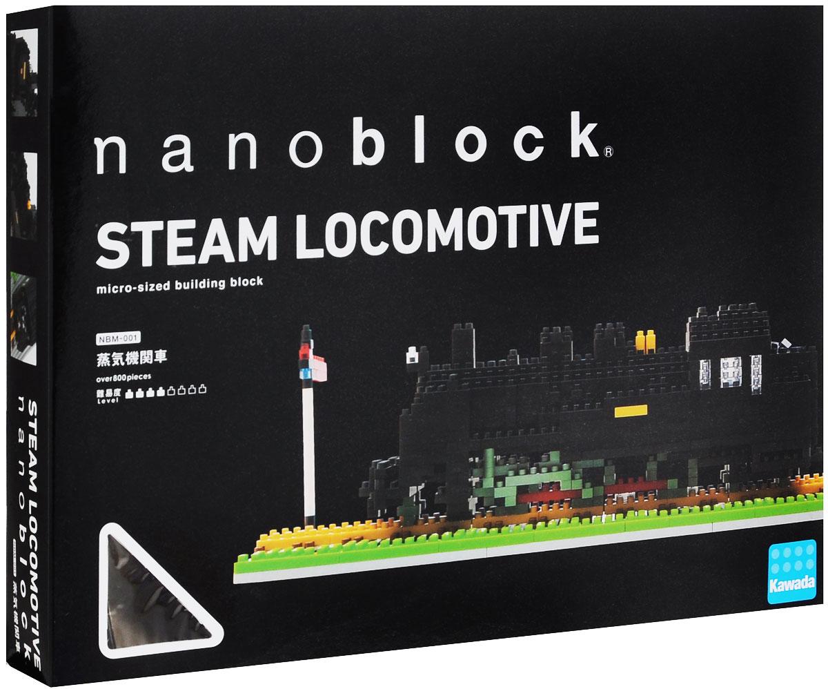 Nanoblock Мини-конструктор Паровоз