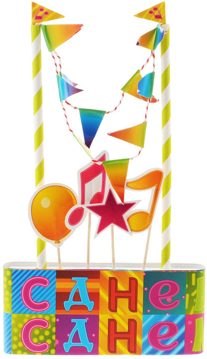 """Веселая затея Декор-комплект для украшения торта """"Мозаика"""", General Consolidated Impex Company"""