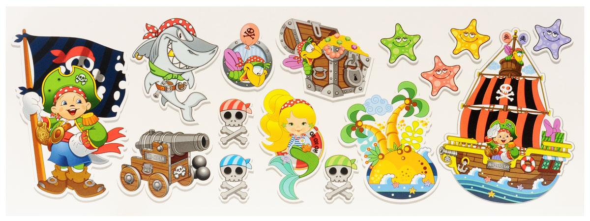 Веселая затея Баннер-комплект  Пират Йо-хо-хо , 15 шт -  Украшения для интерьера