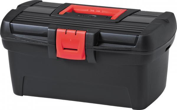 Ящик для инструментов 1362601Практичный и вместительный ящик для инструментов для удобного хранения мелких элементов. Идеально подходит как для начинающих мастеров, так и для профессионалов. Внутри ящика имеется практичный поднос, позволяющий эффективно упорядочить все вещи. Прекрасно подойдет для каждого дома, гаража или мастерской. Емкость Herobox оснащена специальными держателями для крепления ремня, облегчающего перенос. Прочная же конструкция и надежный замок обеспечивают безопасное хранение инструментов. Черная поверхность ящика сочетается с элементами красного цвета.