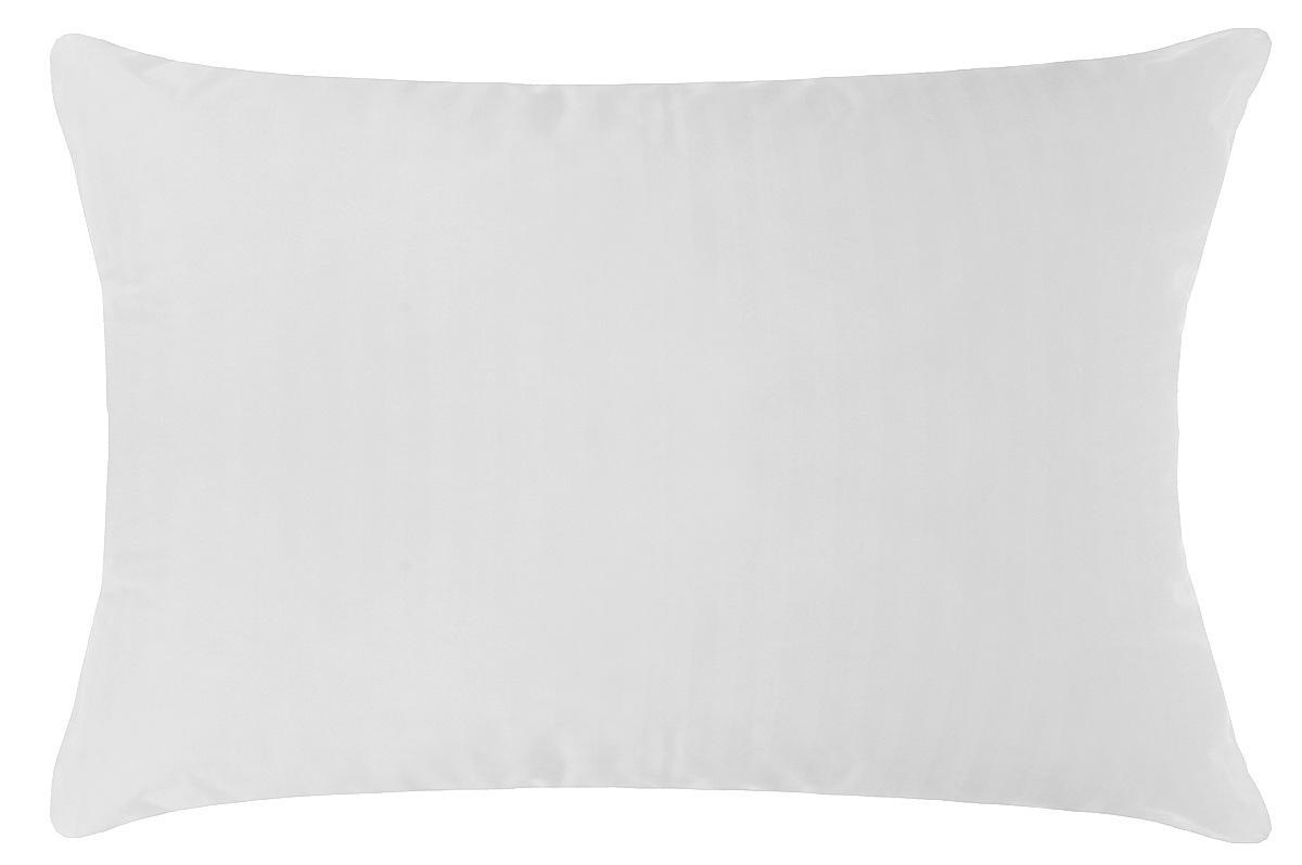 Подушка Primavelle Swan, наполнитель: лебяжий пух, цвет: белый, 50 х 72 см531-105Чехол подушки Primavelle Swan выполнен из 100% хлопка. Наполнитель подушки состоит из 100% лебяжьего пуха.Подушка Primavelle Swan с наполнителем из искусственного лебяжьего пуха - великолепное сочетание белоснежного чехла из сатина и воздушного наполнителя. В качестве наполнителя использовано сверхтонкое микроволокно нового поколения - лебяжий пух. Лебяжий пух легок, приятен на ощупь, легко принимает оптимальную форму, не вызывает аллергии. Одеяло с таким наполнителем легко стирается и быстро сохнет, сохраняя свои первоначальные свойства.Подушка упакована в тканевый чехол с одной пластиковой стороной на змейке с ручкой, что являетсячрезвычайно удобным при переноске.Рекомендации по уходу:- Допускается стирка при 30 градусах,- Нельзя отбеливать. При стирке не использовать средства, содержащие отбеливатели (хлор),- Не гладить. Не применять обработку паром,- Сухая чистка,- Нельзя выжимать и сушить в стиральной машине. Размер подушки: 50 см х 72 см. Материал чехла: 100% хлопок. Материал наполнителя: 100% лебяжий пух (100% полиэстер).