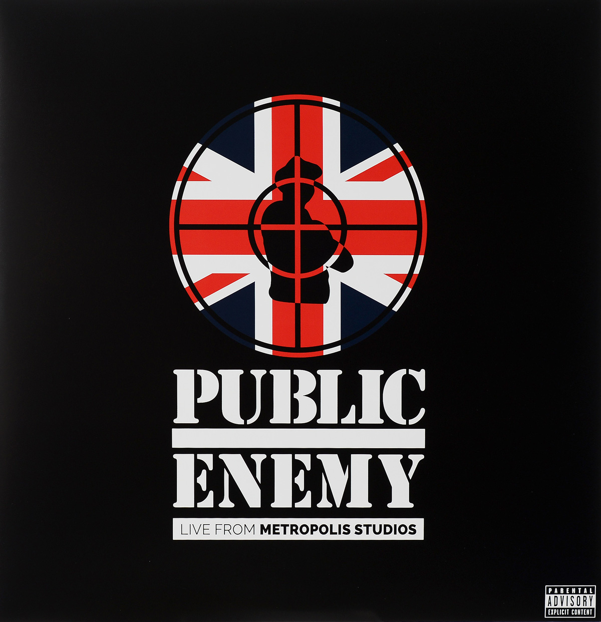 Public Enemy Public Enemy. Live From Metropolis Studios. Limited Edition (2 CD + 2 LP + Blu-ray) francis rossi live from st luke s london blu ray