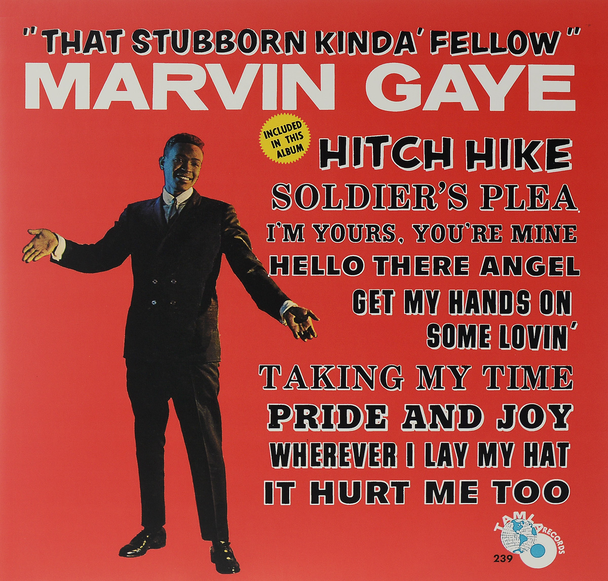 Марвин Гэй Marvin Gaye. That Stubborn Kinda' Fellow (LP) marvin gaye marvin gaye how sweet it is to be loved by you